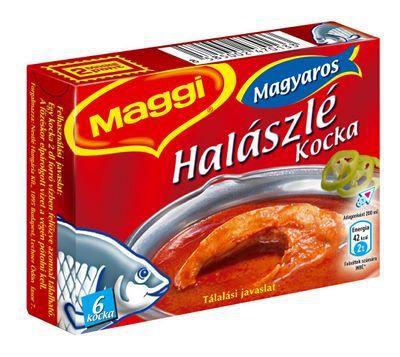Maggi halászlé kocka 60g – Fishsoup stocks