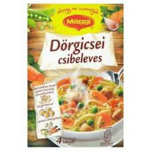 Dörgicsei csibeleves Maggi Gazdaglevesek – Chick soup powder