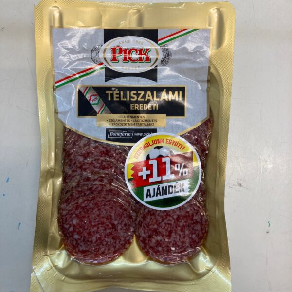Pick Téliszalámi Szeletelt FociEB + 11% ajándék